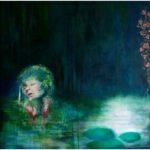 Katarsis, oljemålning, Charlotte Wiktorsdotter