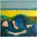 Paus, oljemålning, Charlotte Wiktorsdotter