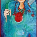 Sapmi, oljemålning, Charlotte Wiktorsdotter