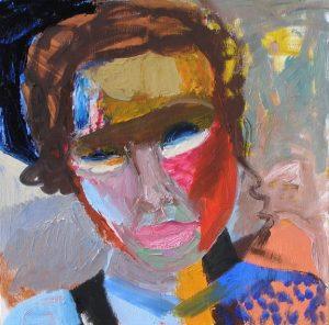Självporträtt Magdalena Eriksson