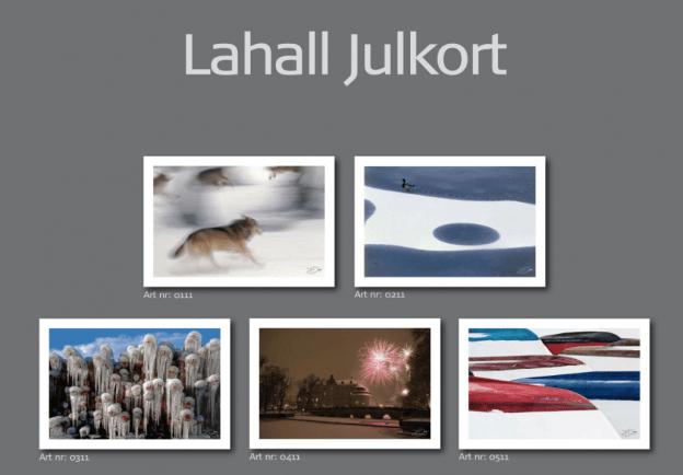 Julkort JP Lahall