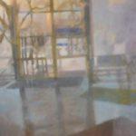 Spegling 14, tempera, Marianne Degerman
