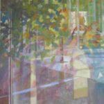 Spegling 16, tempera, Marianne Degerman